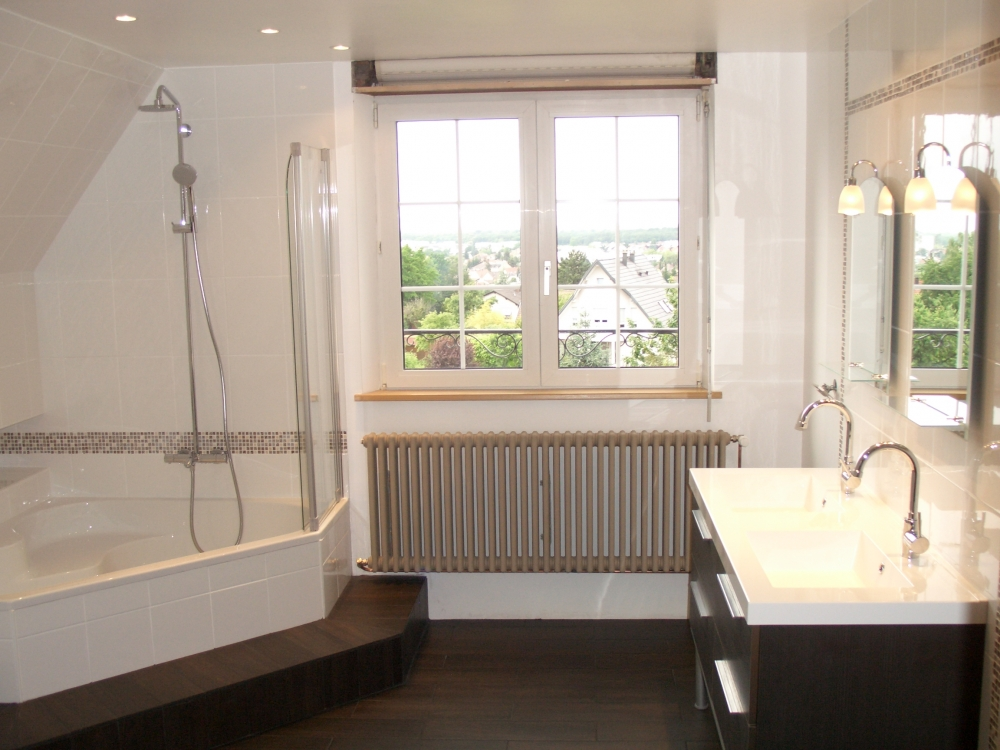 Rénovation complète d'une salle de bain - après travaux