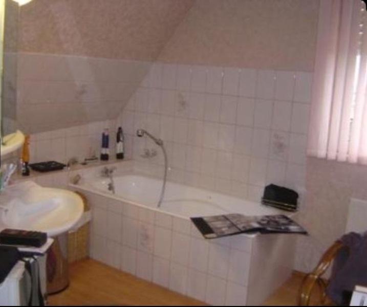 Rénovation complète d'une salle de bain - avant travaux