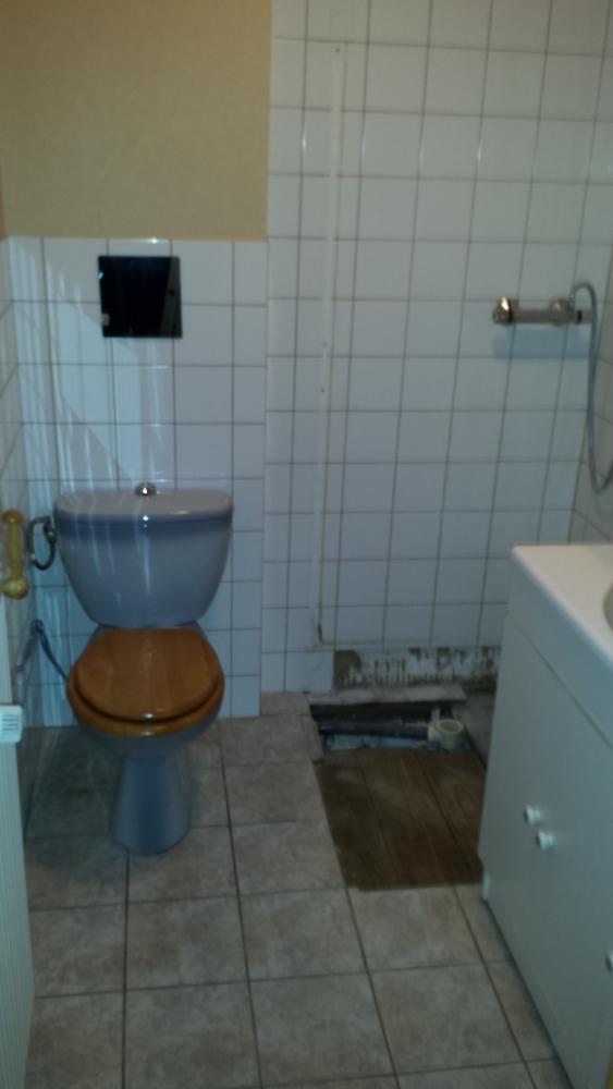 Rénovation salle de bain - avant travaux