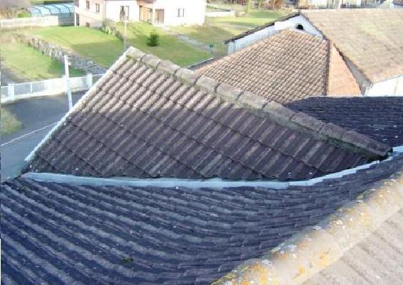 Réfection façade + toiture - avant travaux