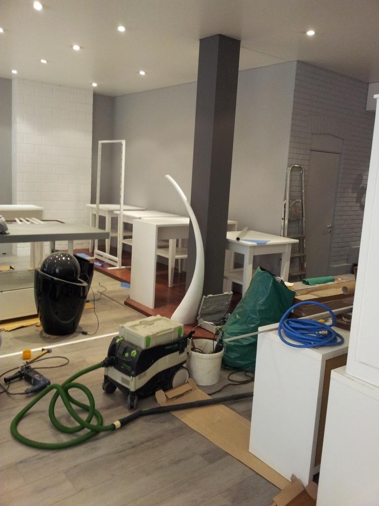 Rénovation Fleuriste Mulhouse - après travaux
