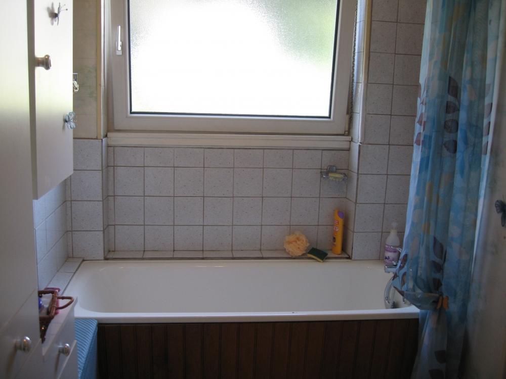 Transformation de salle de bain - avant travaux